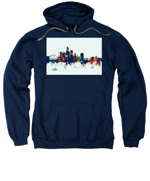 Des Moines Iowa Skyline Sweatshirt