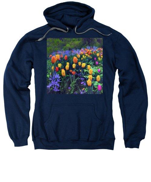 Procession Of Tulips Sweatshirt