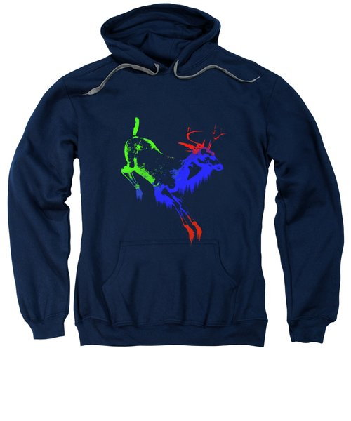 Paint Drips Sweatshirt by Solomon Barroa