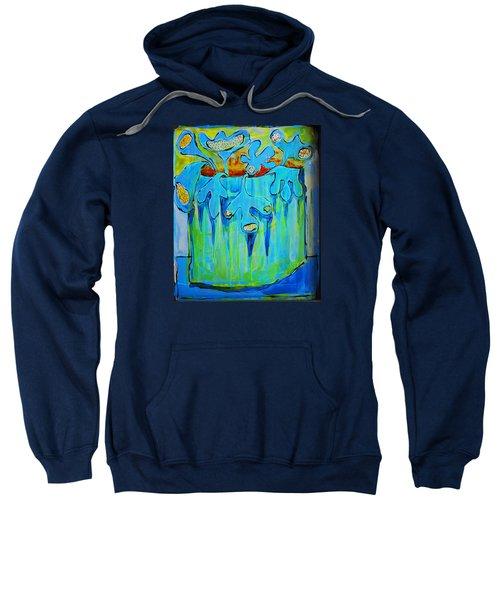 A Bucket Of Flowers Sweatshirt by DAKRI Sinclair