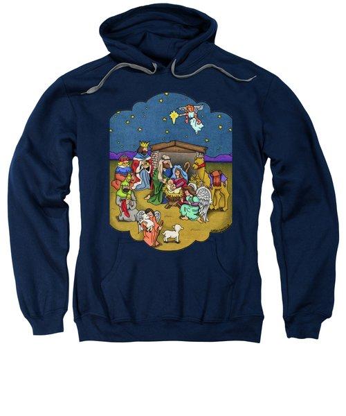 A Nativity Scene Sweatshirt by Sarah Batalka