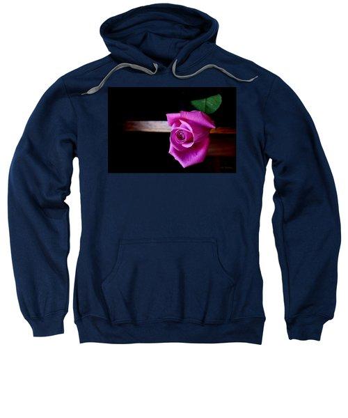 A Single Rose Sweatshirt