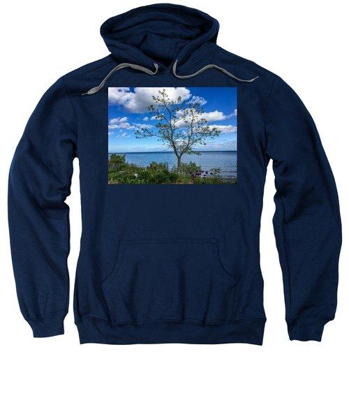 A Walk Along Lake Michigan Sweatshirt
