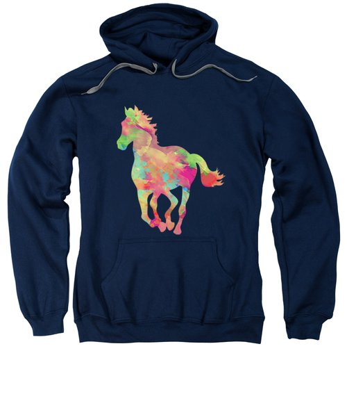 Abstract Horse Sweatshirt by Amir Faysal