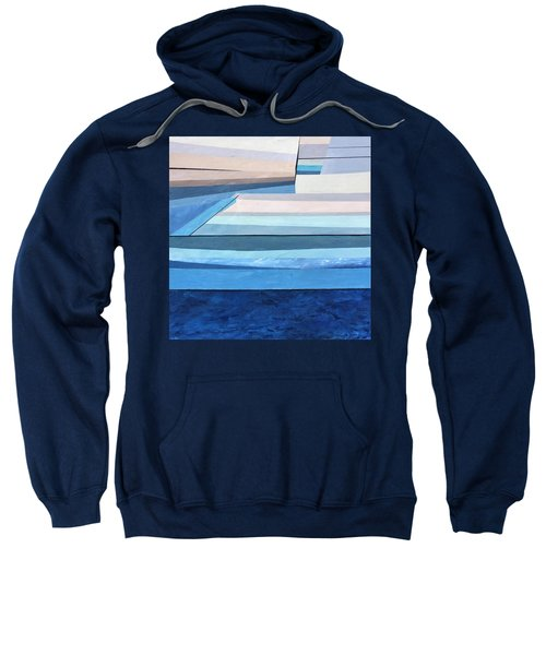 Abstract Swimming Pool Sweatshirt