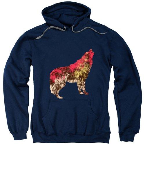 Abstract Wolf  Sweatshirt