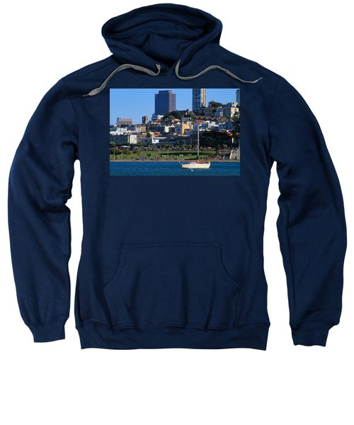 Afternoon At Maritime Park Sweatshirt