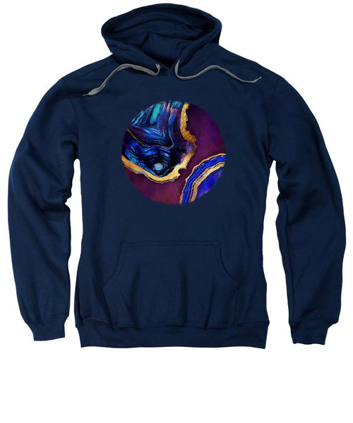 Agate Abstract Sweatshirt