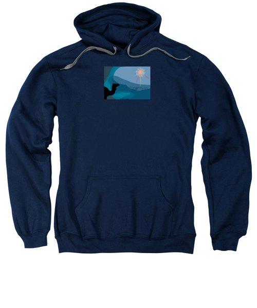 Alexander Epiphany A Sweatshirt by Stan  Magnan