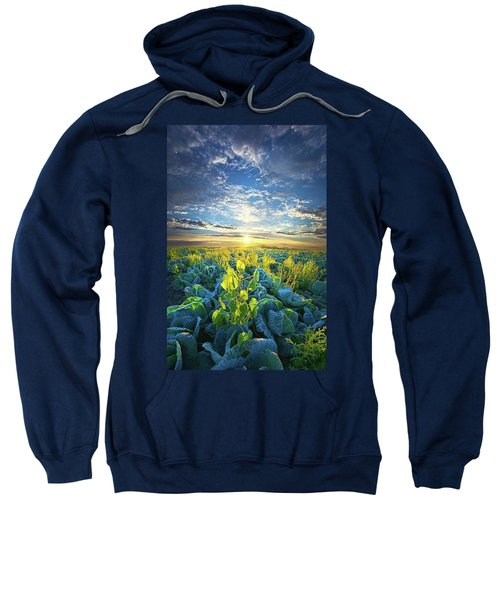 All Joined As One Sweatshirt by Phil Koch