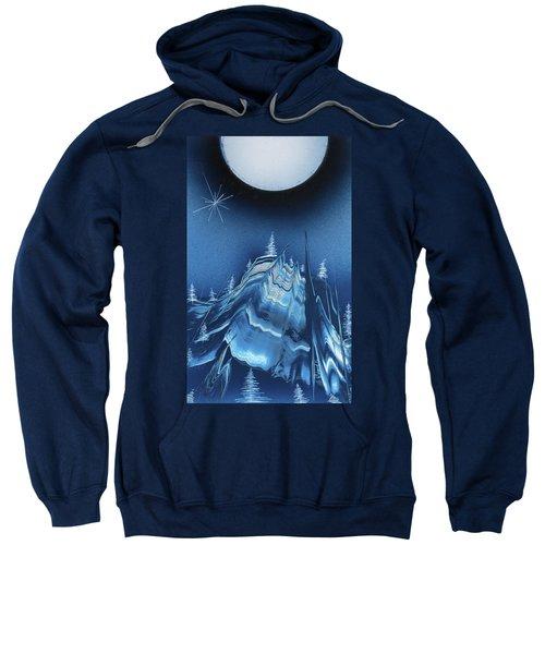Alpine Ski Area Sweatshirt