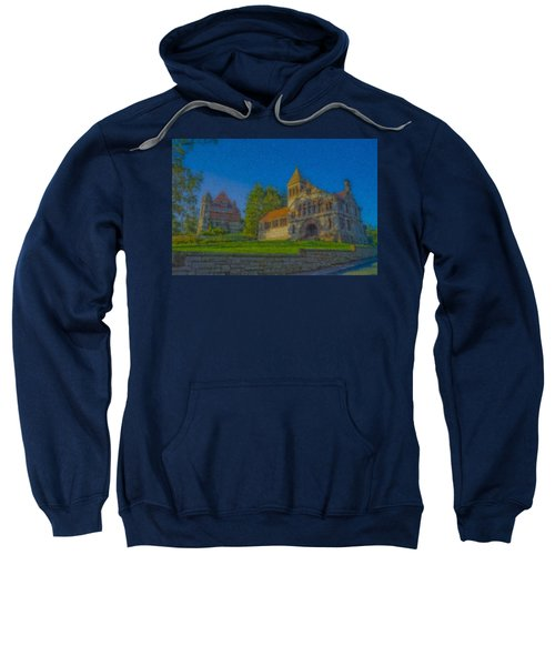 Ames Hall And Ames Free Library Sweatshirt