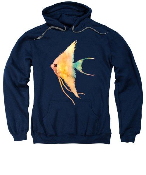 Angelfish II - Solid Background Sweatshirt