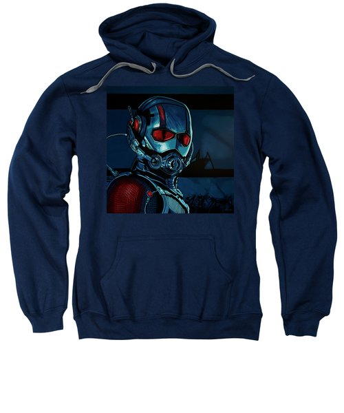 Ant Man Painting Sweatshirt by Paul Meijering