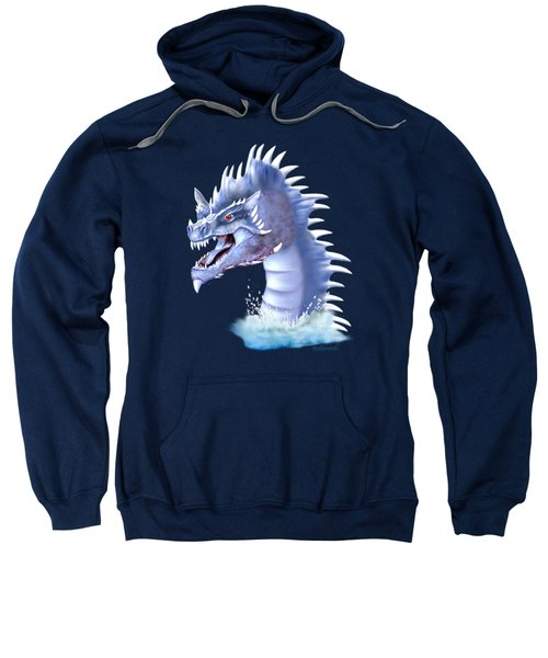 Arctic Ice Dragon Sweatshirt by Glenn Holbrook