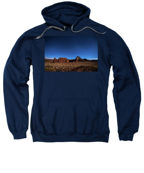 Arizona Landscape At Night Sweatshirt