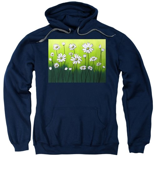 Daisy Crazy Sweatshirt by Teresa Wing