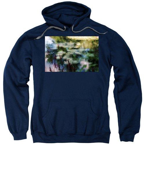 At Claude Monet's Water Garden 2 Sweatshirt