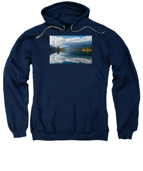 Autumn Along The Pend Oreille River Sweatshirt