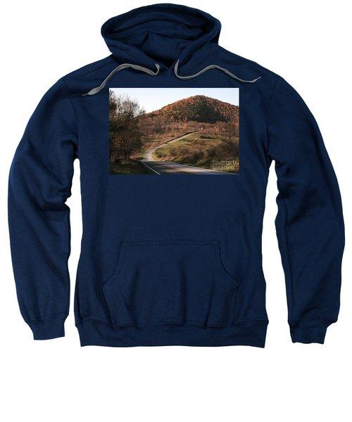 Autumn Hill Near Hancock Maryland Sweatshirt