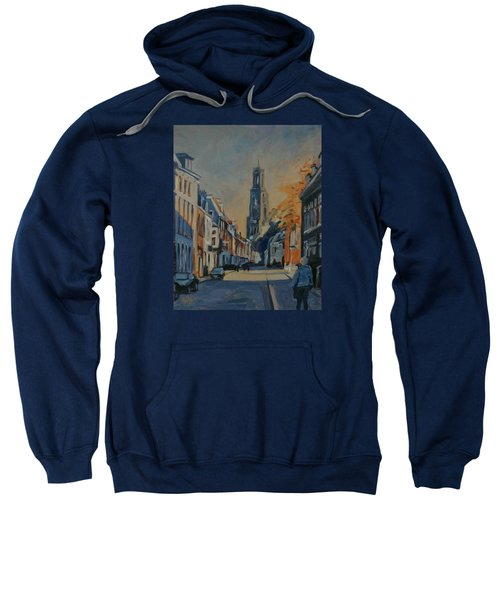 Autumn In The Lange Nieuwstraat Utrecht Sweatshirt