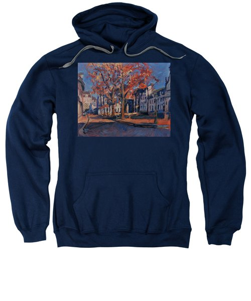 Autumn On The Square Of Our Lady Maastricht Sweatshirt