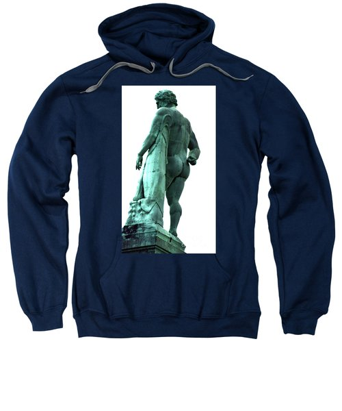 Back View From Great Hercules Sweatshirt