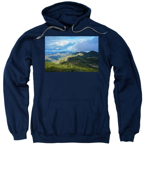 Backbone Trail Santa Monica Mountains Sweatshirt