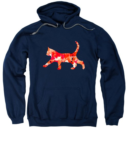 Background Colour Choice Cat Sweatshirt