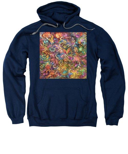 Batik Colorburst Sweatshirt