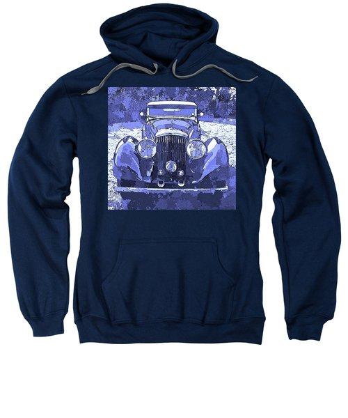 Bentley Blue Pop Art P2 Sweatshirt
