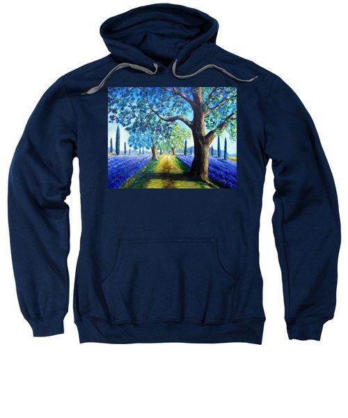 Between The Lavender Fields Sweatshirt