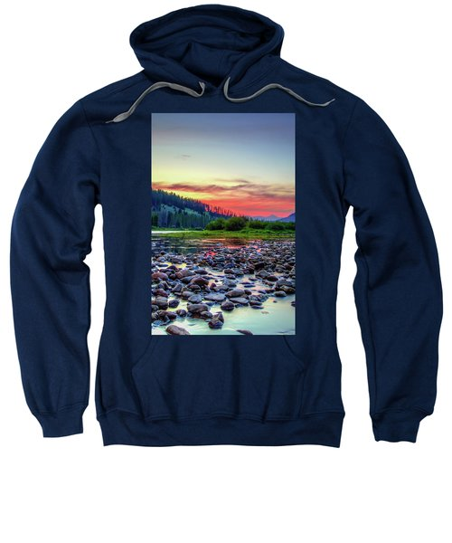Big Hole River Sunset Sweatshirt