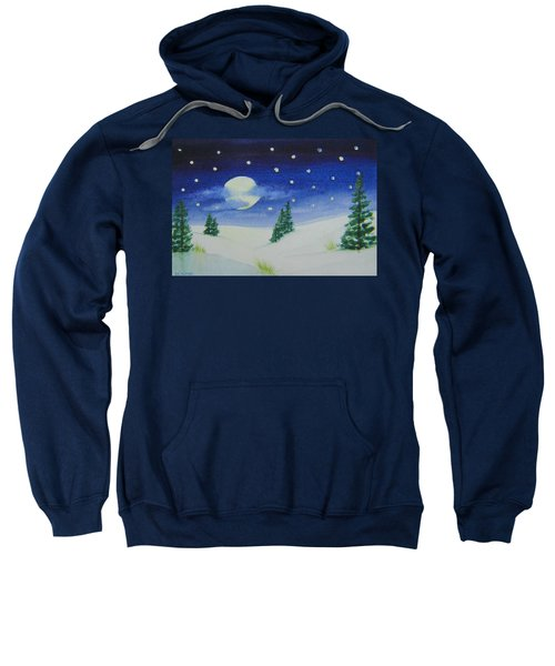 Big Moon Christmas Sweatshirt
