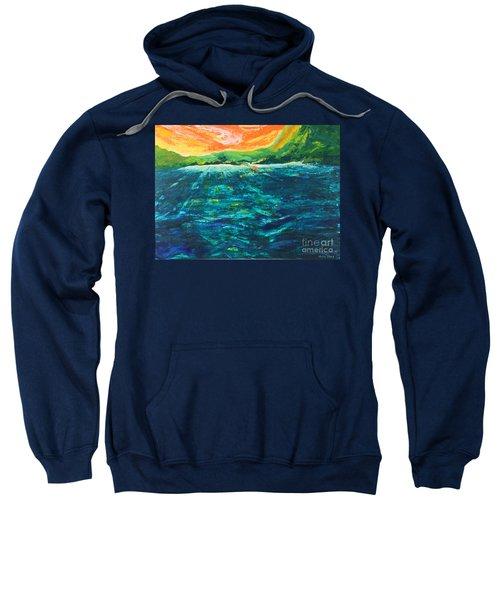 Big Tropical Wave Sweatshirt