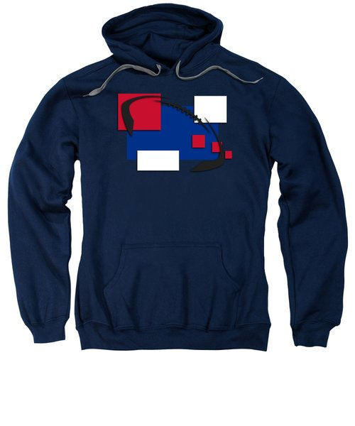 Bills Abstract Shirt Sweatshirt by Joe Hamilton