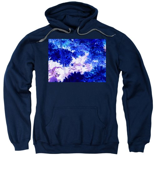 Blue Mums And Water Sweatshirt
