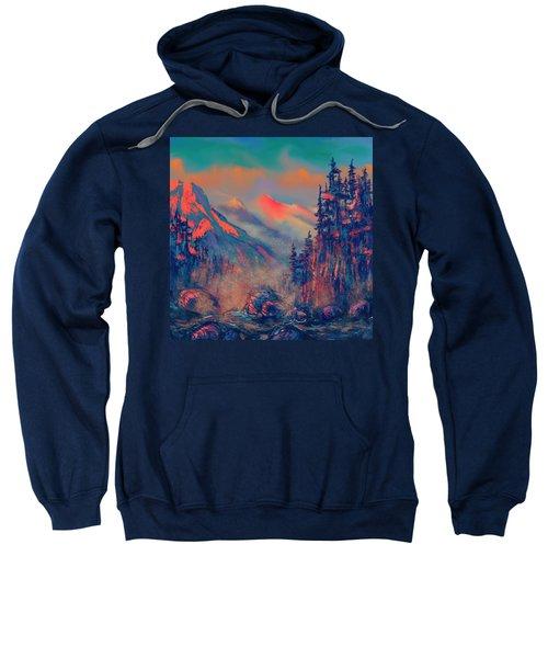 Blue Silence Sweatshirt