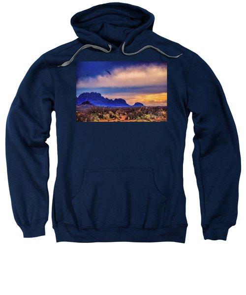 Blue Sunset Nm-az Sweatshirt