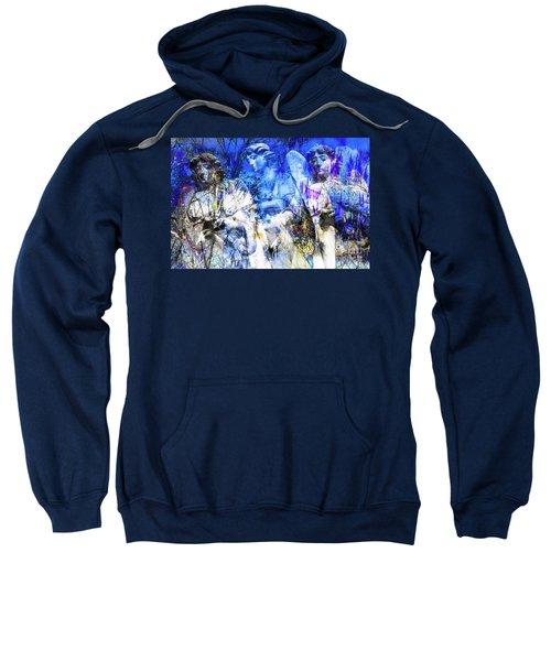 Blue Symphony Of Angels Sweatshirt