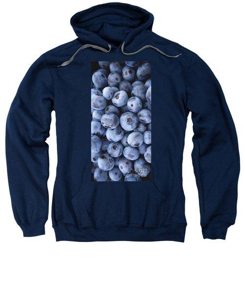 Blueberries Foodie Phone Case Sweatshirt