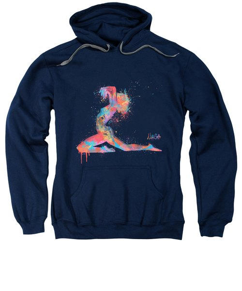 Bodyscape In D Minor - Music Of The Body Sweatshirt by Nikki Marie Smith