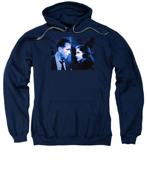 Bogart And Bacall - The Big Sleep Sweatshirt