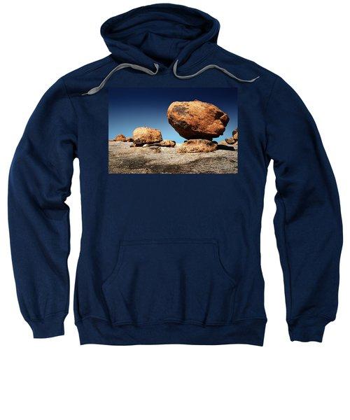 Boulder On Solid Rock Sweatshirt
