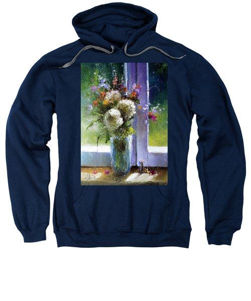 Bouquet At Window Sweatshirt