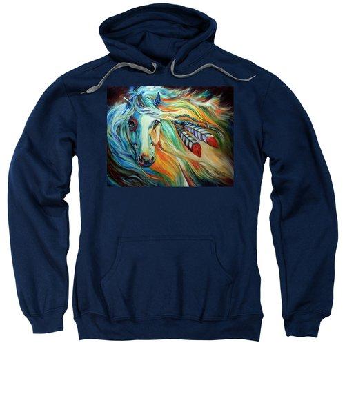 Breaking Dawn Indian War Horse Sweatshirt