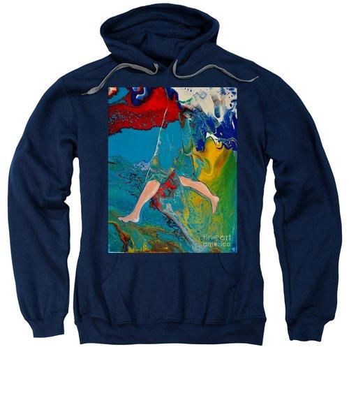 Breaking Through Sweatshirt