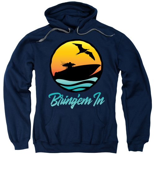 Bring'em In Sunset Cruise Sweatshirt