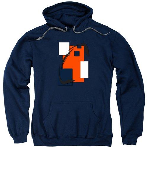 Broncos Abstract Shirt Sweatshirt by Joe Hamilton