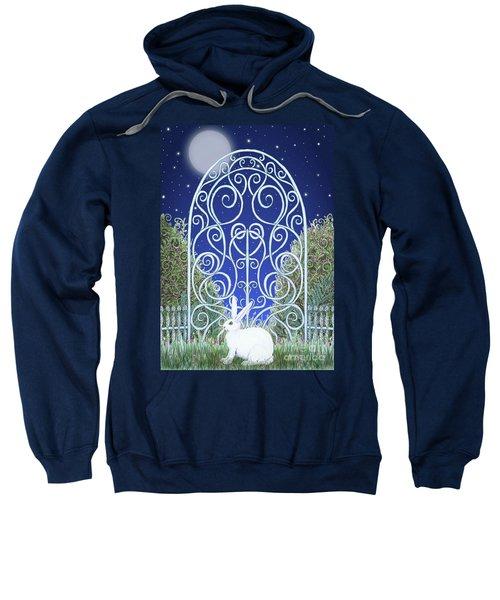 Bunny, Gate And Moon Sweatshirt